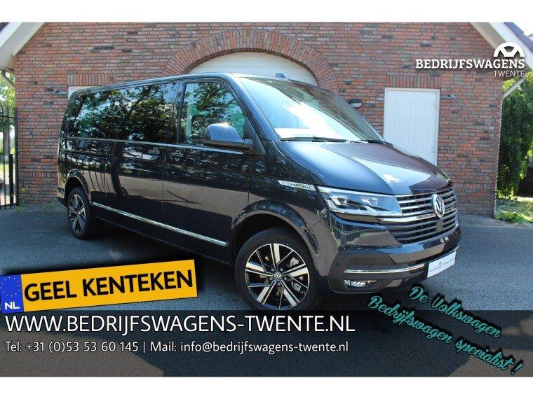 Foto van Volkswagen Caravelle T6 .1 Highline 199pk DSG | GEEL KENTEKEN 8 pers.