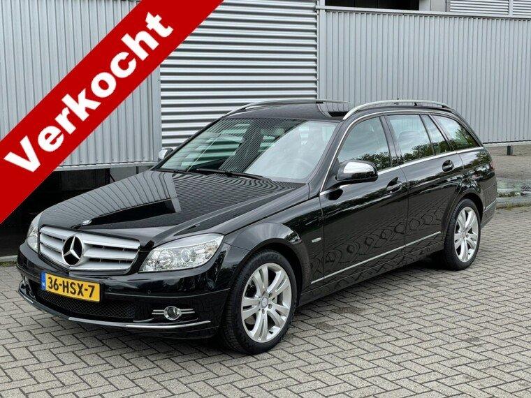 Foto van Mercedes-Benz C-Klasse Estate 200 K Avantgarde Elktr pakket/Navigatie/Cruise/2e eigenaar/ compleet onderhouden
