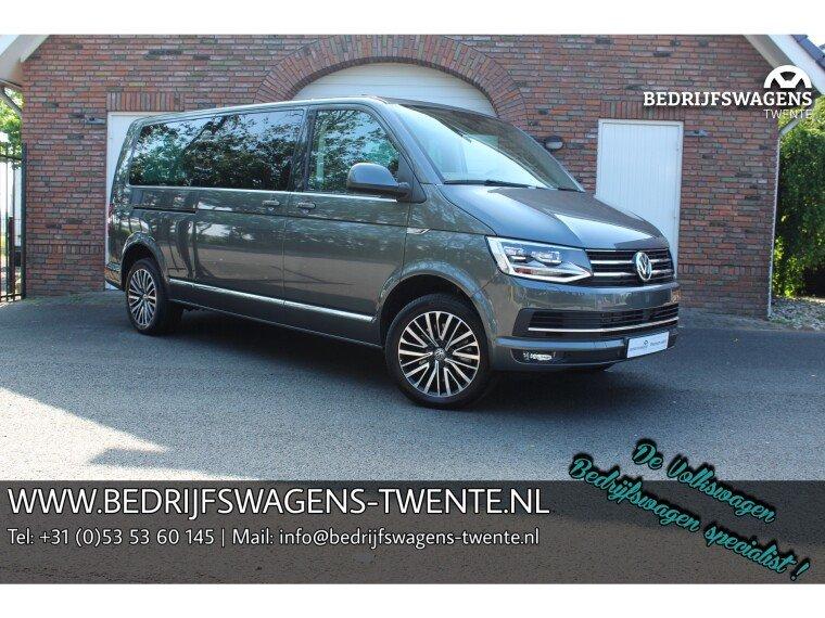 Foto van Volkswagen Multivan T6 198 PK DSG LWB DUB/CAB VOL!! LED