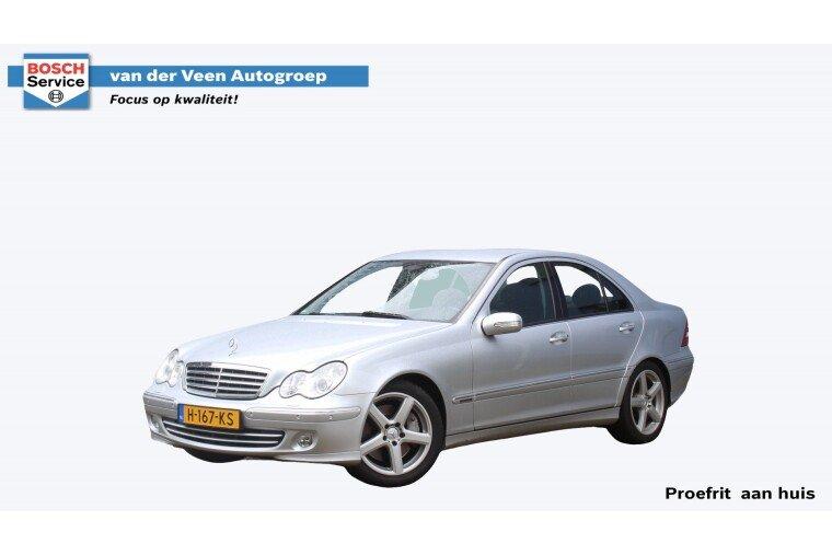 Foto van Mercedes-Benz C-Klasse 230 V6 205PK Automaat Elegance