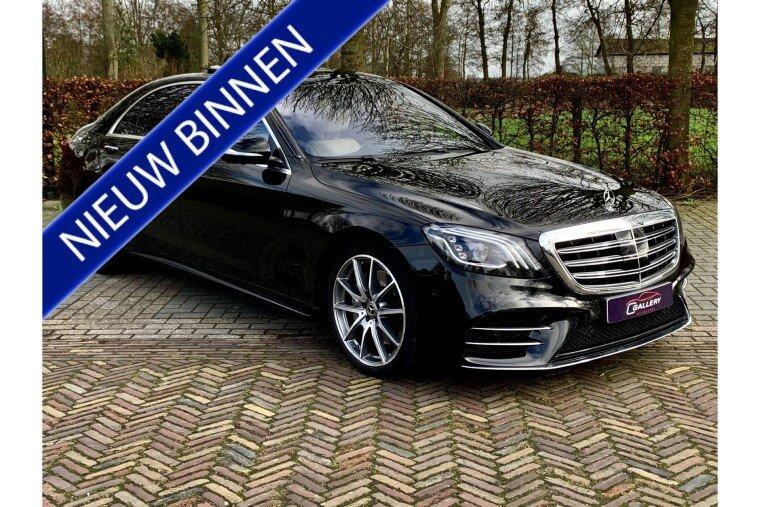 Foto van Mercedes-Benz S-Klasse 450 Lang Premium Plus   Pano   Burmester   TV Schermen - Incl. 6 mnd GARANTIE!
