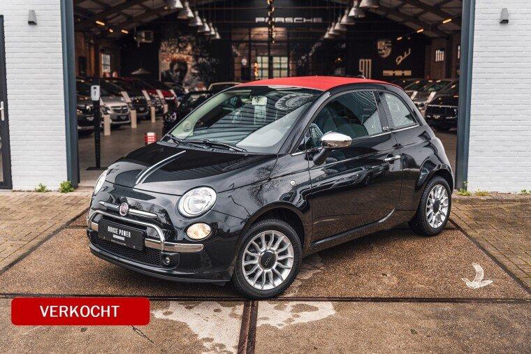 Foto van Fiat 500C 1.2 Lounge Cabrio AIRCO,PDC,HALF LEDER,AUX