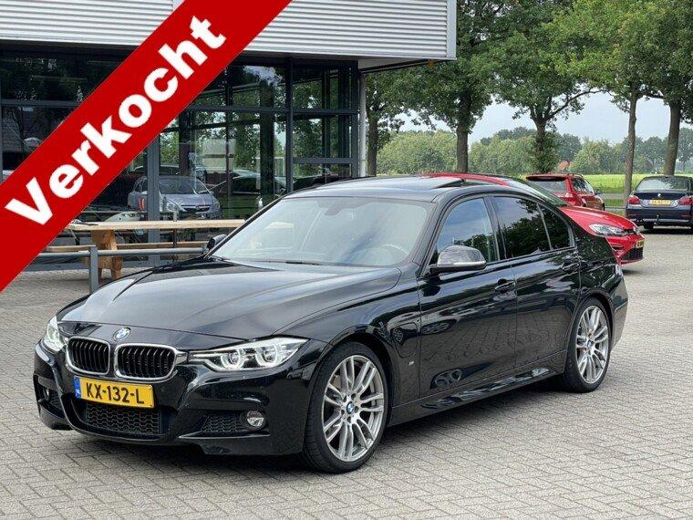 Foto van BMW 3 Serie 330e M-Pakket/Opendak/Leder/Led/HUD/Gr Navigatie