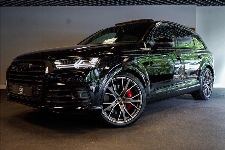 Foto van Audi SQ7 4.0 TDI Quattro Pro Line + 436PK 7 PERS. | Pano | B&O | Sfeer | Luchtvering | BOMVOL! Garantie