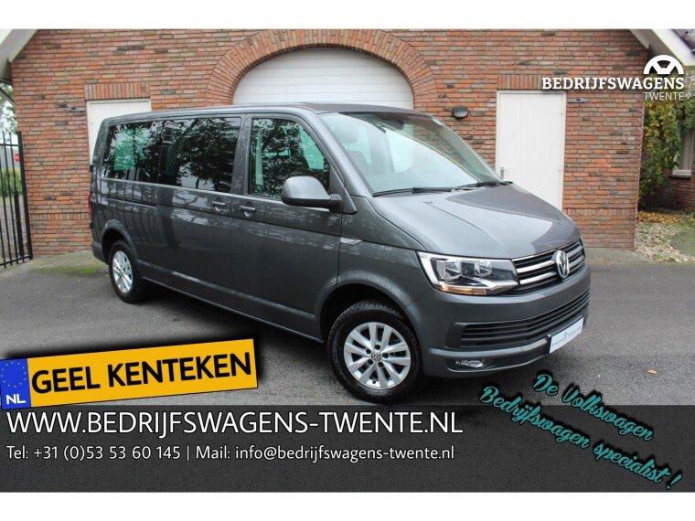 Foto van Volkswagen Caravelle T6 GEEL KENTEKEN LR 2.0 TDI 150 pk DSG L2H1