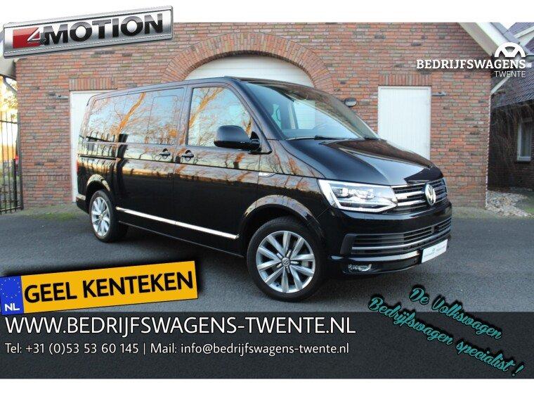 Foto van Volkswagen Multivan T6 Highline 204 PK DSG 4-Motion GEEL KENTEKEN   MARGE