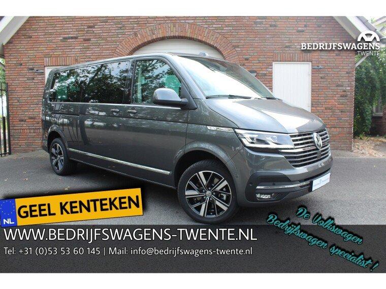 Foto van Volkswagen Caravelle T6 .1 Highline 199pk DSG 8-pers. GEEL KENTEKEN INCL.BTW/BPM