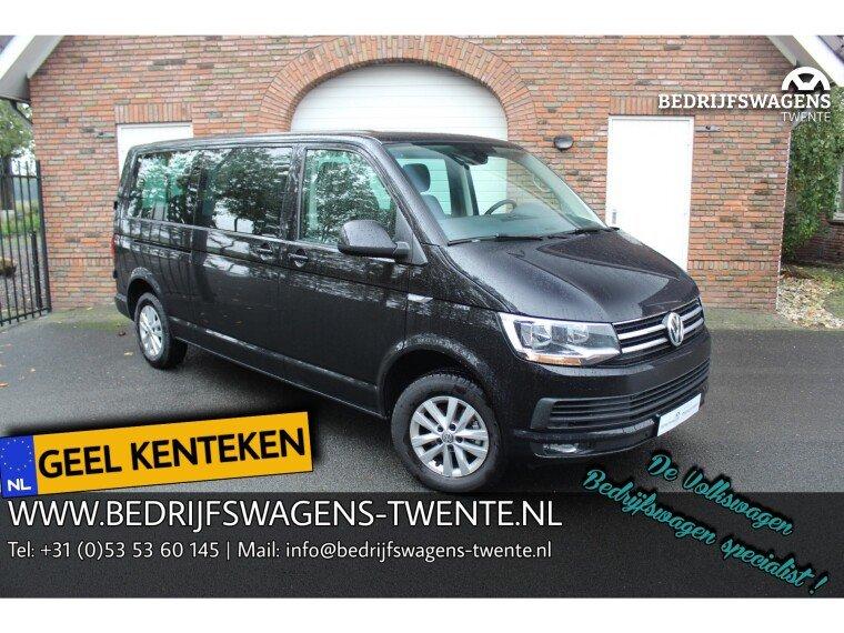 Foto van Volkswagen Caravelle T6 GEEL KENTEKEN 2.0 TDI 150 pk DSG L2H1