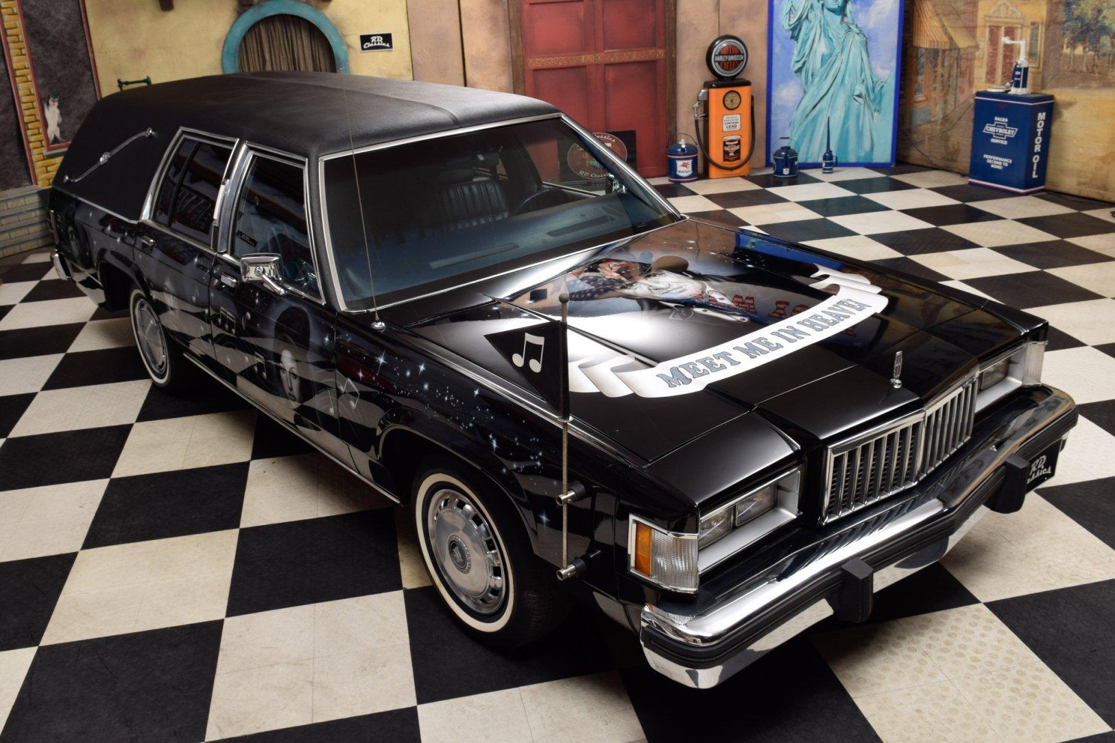 Leichenwagen mobile de Ectomobile