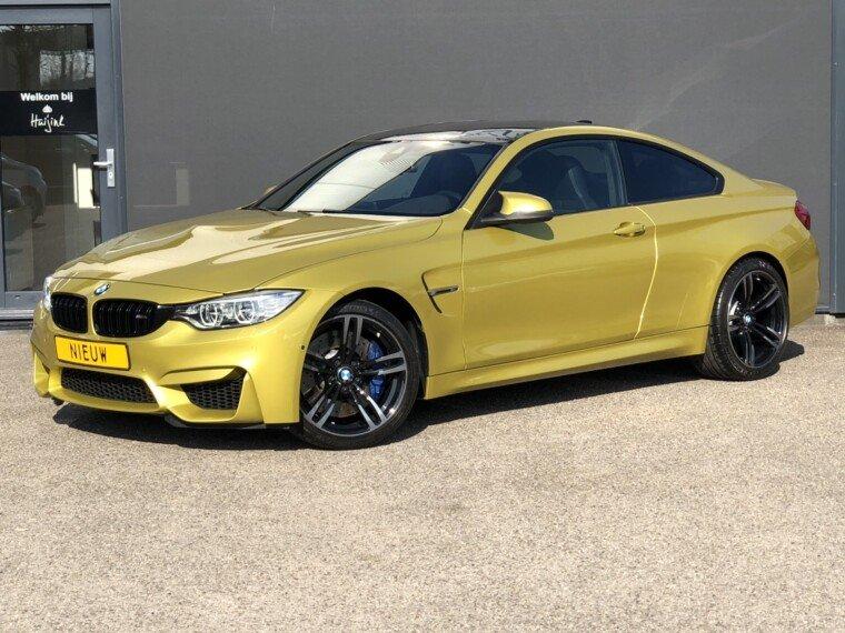 Foto van BMW 4 Serie Coupé M4, SMG, LED, HUD, Automatische airco