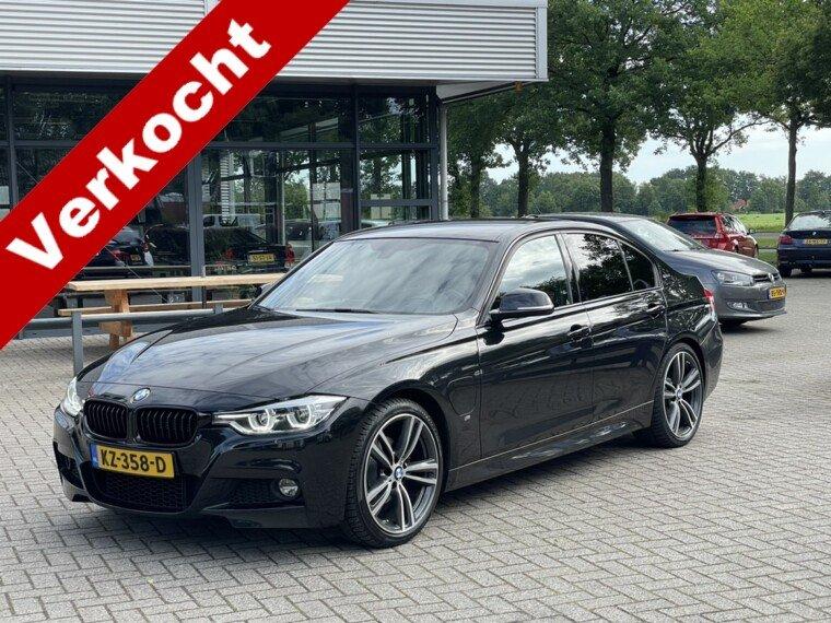Foto van BMW 3 Serie 330e M-Pakket/Navi/Applecar/Keyless/Dealer onderhouden/Led/Leder