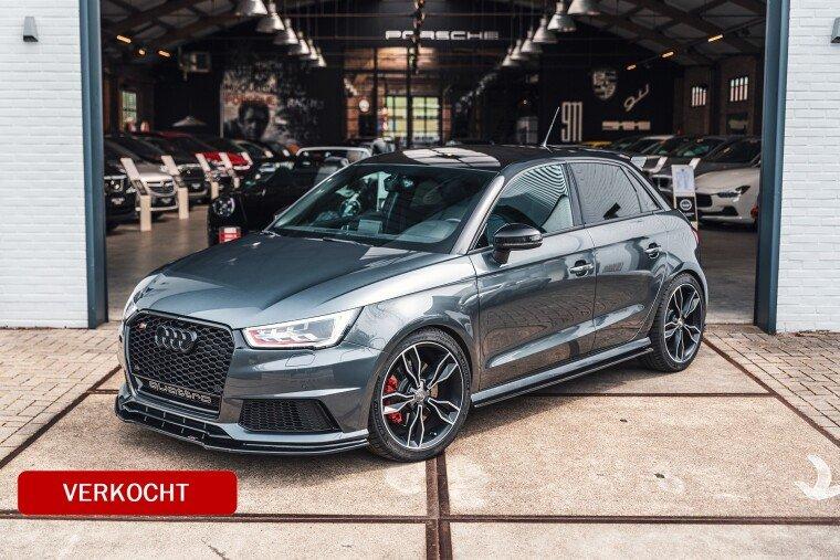 Foto van Audi A1 2.0 TFSI S1 Quattro Pro Line Plus 330 PK