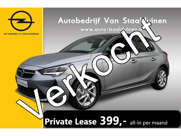 Foto van Opel Corsa 1.2 GS Line