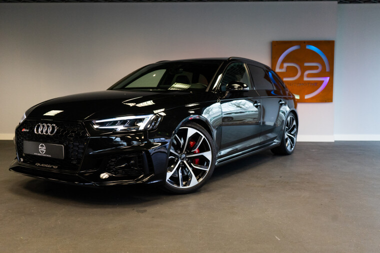 Foto van Audi RS4 Avant 2.9 TFSI Quattro 451PK Matrix | HUD | B&O | Pano | Garantie VOL!