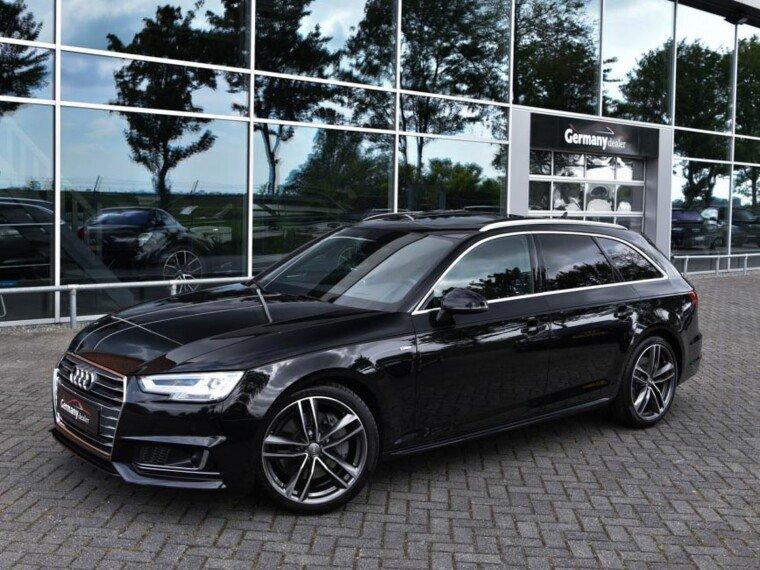 Audi A4 Avant 3.0TDI 218pk S-Line Black Optic
