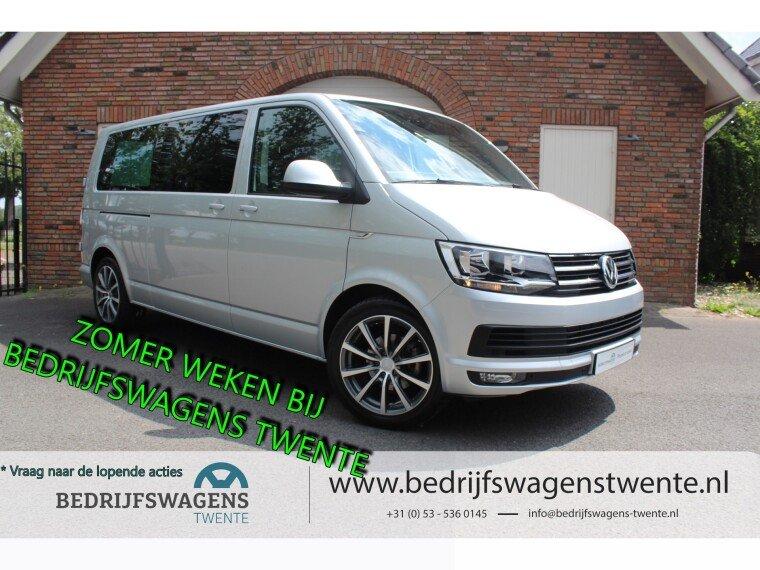 "Foto van Volkswagen Caravelle T6 2.0 TDI LR LANG 150 PK DUB/CAB   19"" LM   LEDER   EIBACH"