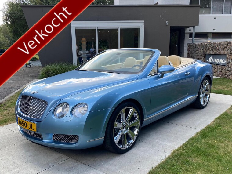 Foto van Bentley Continental 6.0 W12 GTC