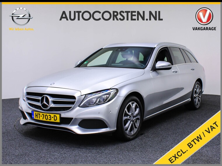 Foto van Mercedes-Benz C-Klasse Estate 350e (Ex.Btw) Gr-Navi Leer Camera Burmester
