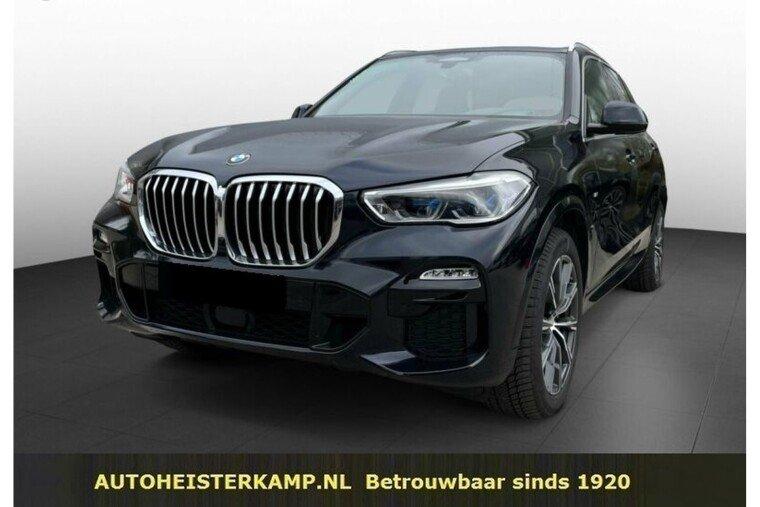 BMW X5 xDrive30d 286 PK M-Sport Grijs Kenteken ACC Head-Up Trekhaak Panoramadak