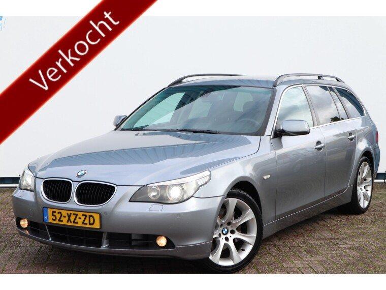 Foto van BMW 5 Serie Touring 530D 220pk Automaat, High Executive