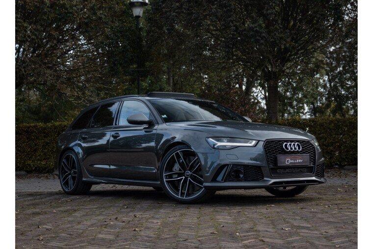 Foto van Audi A6 Avant 4.0 TFSI RS6 quattro perfomance - Ceramic l Pano l B&O l head-up - Incl. 3 mnd GARANTIE!