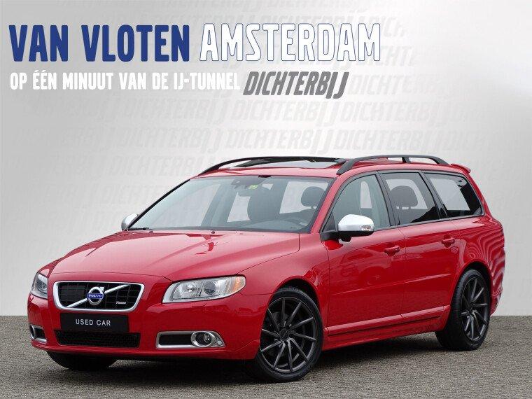 Foto van Volvo V70 T4 R-Design | Uniek! | BLIS | Schuif-kanteldak