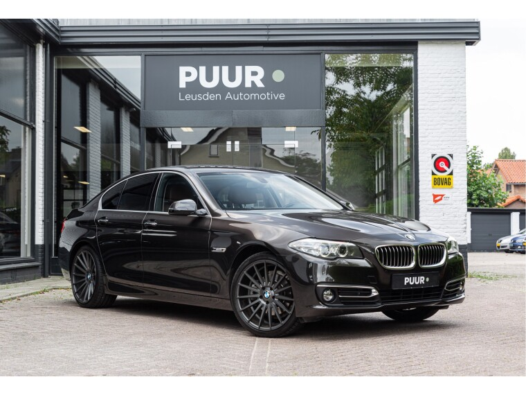 Foto van BMW 5 Serie 520i Aut. High Executive Luxury Line