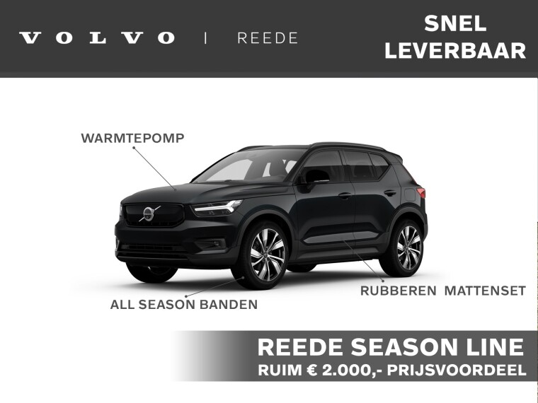 Foto van Volvo XC40 Recharge P8 AWD R-Design | SNEL LEVERBAAR VANAF €55.495, -