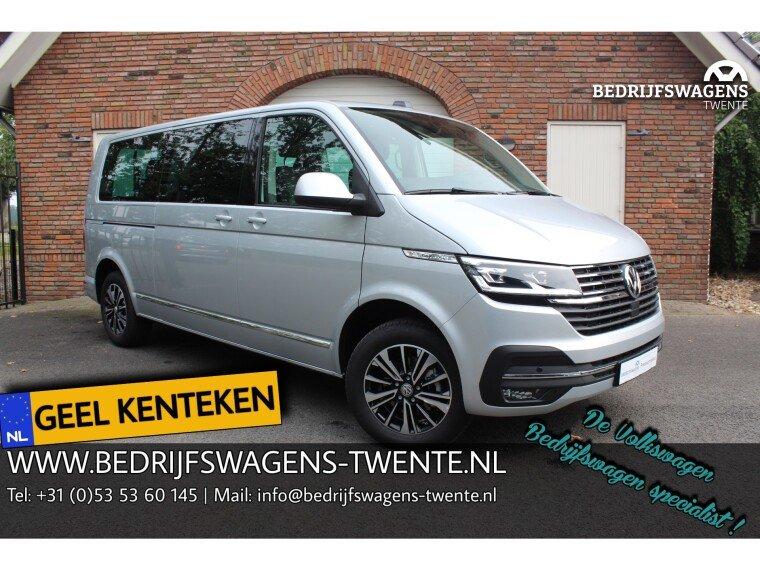 Foto van Volkswagen Caravelle T6 .1 Highline 150 pk DSG | A-KLEP | ACC GEEL KENTEKEN