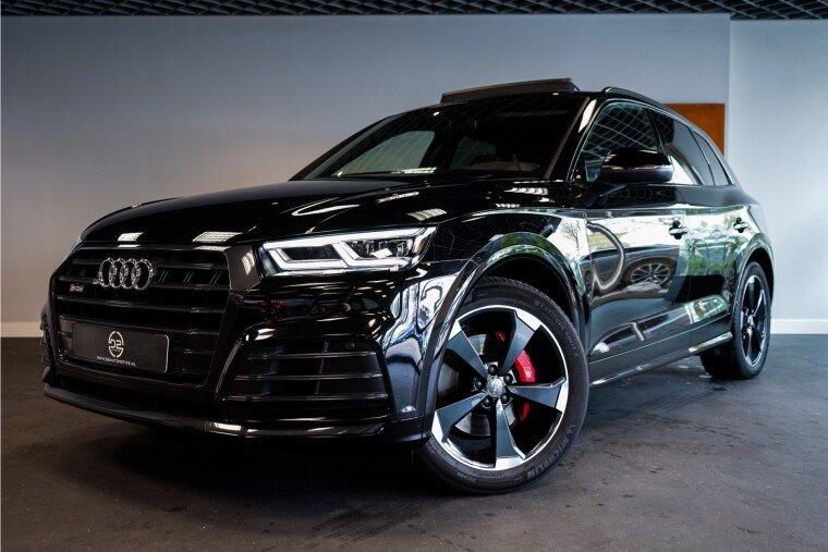 Foto van Audi SQ5 3.0 TFSI SQ5 Quattro Pro Line Plus 354PK | Luchtvering | Audi Exclusive Leder | Pano | B&O | Black BOMVOL!