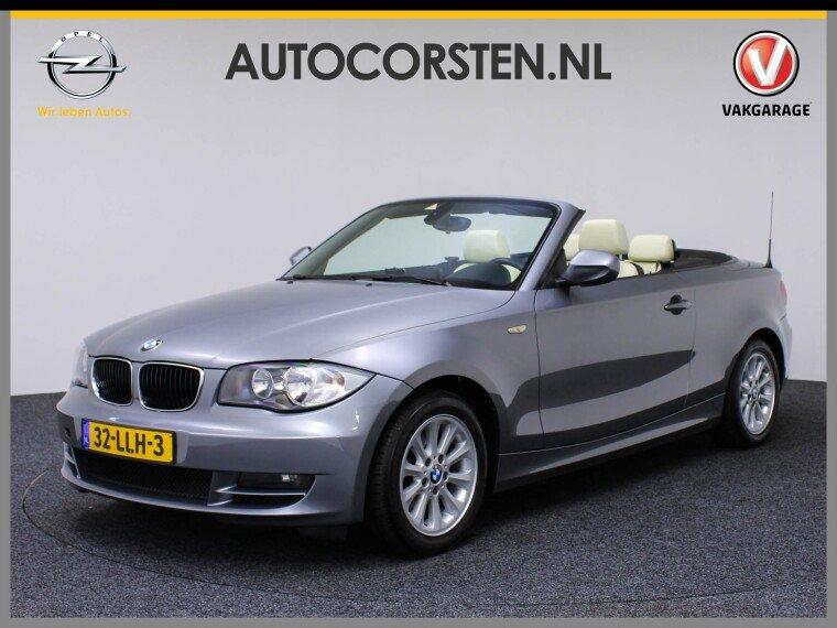Foto van BMW 1 Serie Cabrio 118i Executive